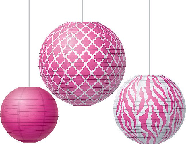 Moroccan Paper Lanterns Pink Wild Moroccan Paper Lanterns Tcr Products