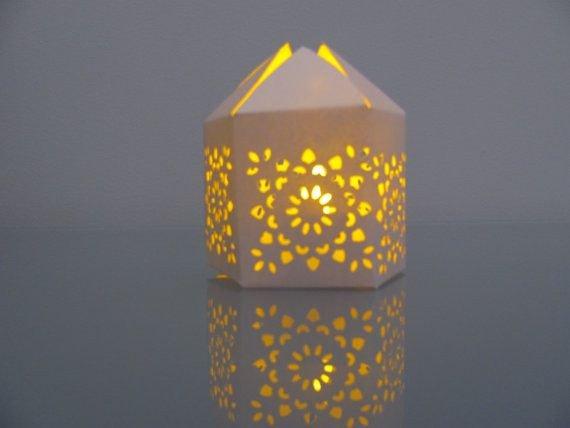 Moroccan Paper Lanterns Pretty Idea