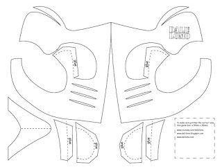 Mortal Kombat Mask Template Make Mortal Kombat Scorpion Mask Cereal Box
