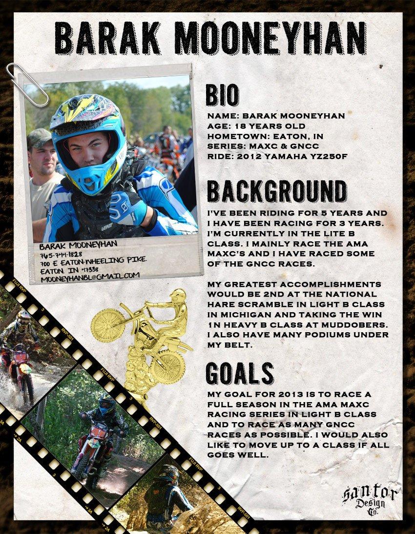 Motocross Sponsorship Resume Template Bike Sponsorship Resume Sponsorship