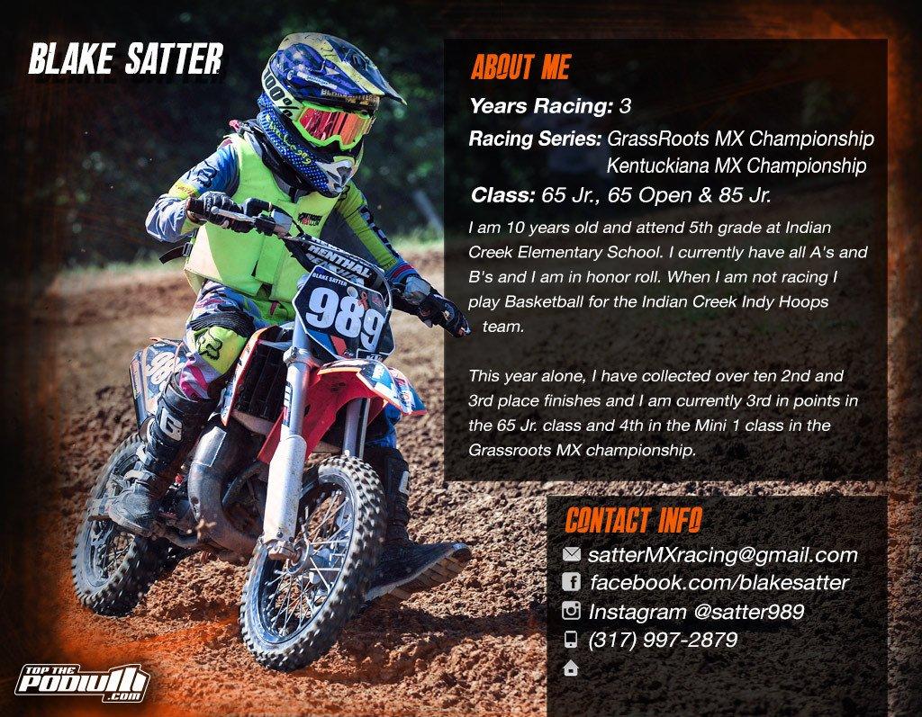 Motocross Sponsorship Resume Template Motocross Sponsorship Resume