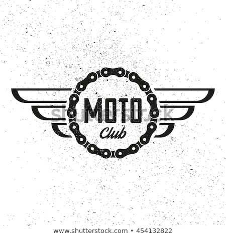 Motorcycle Club Patch Template Photoshop Moto Stock Royalty Free & Vectors