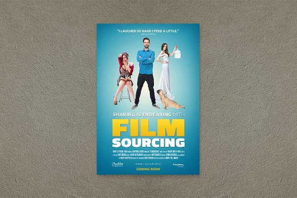 Movie Poster Template Free 25 Movie Posters Free Psd Ai Eps Vector format Download