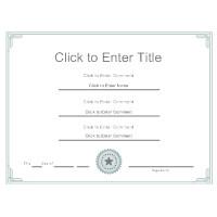 Movsm Certificate Template Certificate Templates