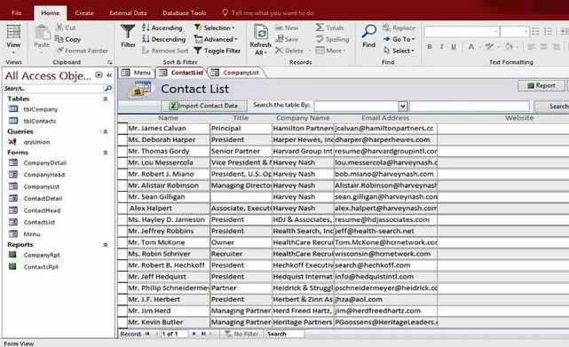 Ms Access Database Template Microsoft Access 2016 Templates In Access Database