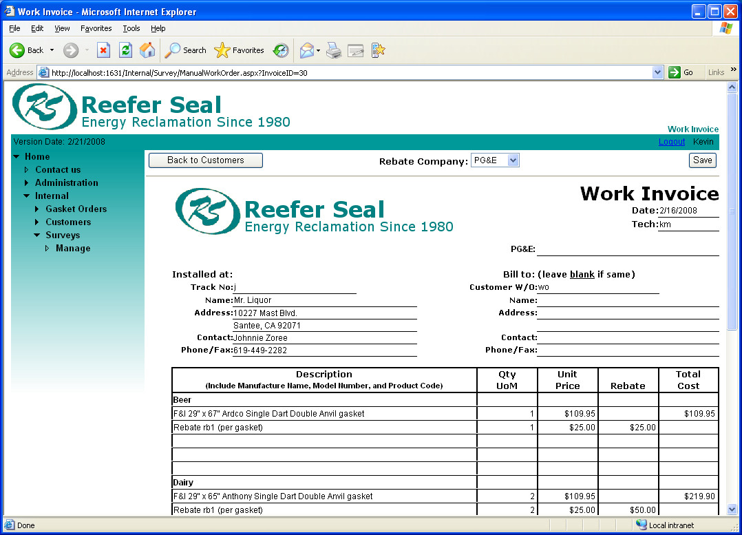 Ms Excel Invoice Template Invoice Template Excel 2010