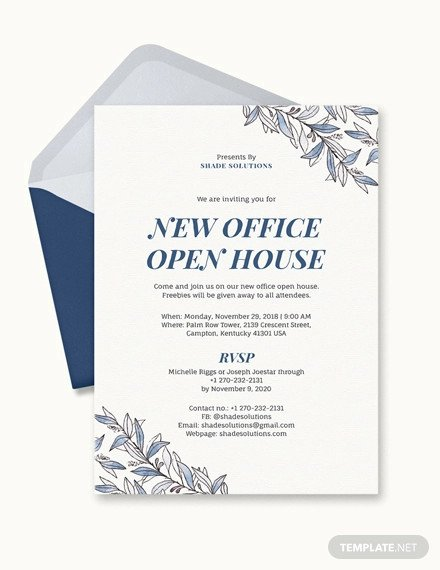 Ms Office Invitation Template 10 Fice Party Invitations Psd Ai Word