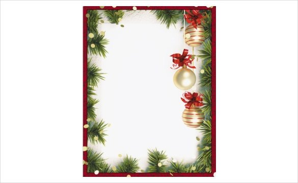Ms Word Christmas Templates 19 Holiday Border Templates Free Psd Vector Eps Png
