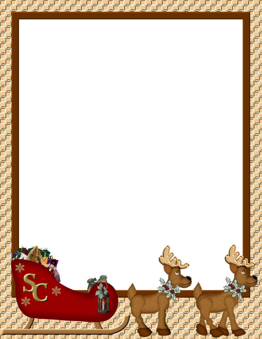 Ms Word Christmas Templates Christmas 1 Free Stationery Template Downloads