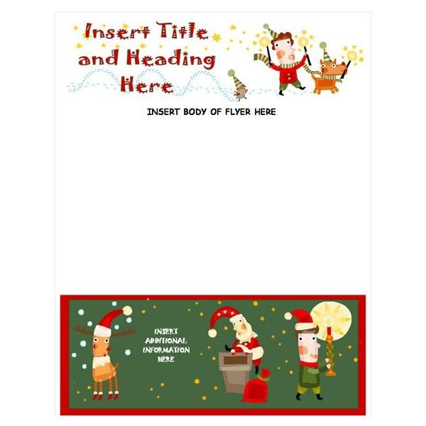 Ms Word Christmas Templates Guide to Finding A Free Christmas Letter Template