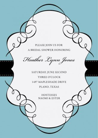 Ms Word Invitation Template Invitation Template Word
