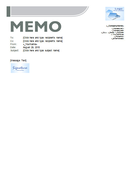 Ms Word Memo Templates Memo Template Templates for Microsoft Word