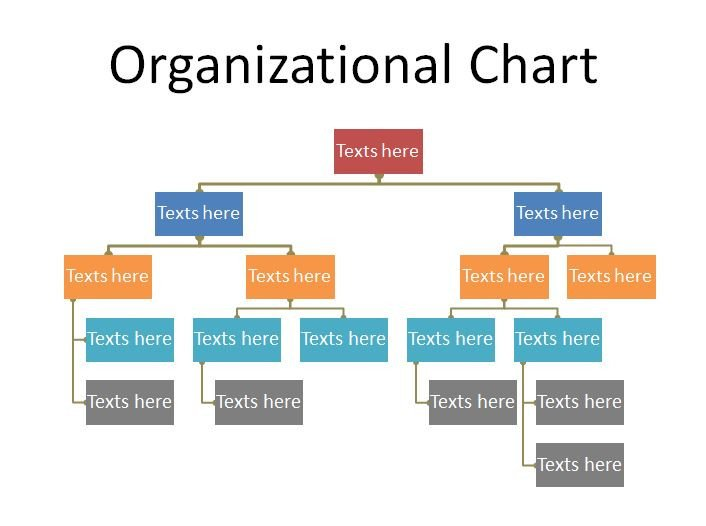 Ms Word org Chart Templates 40 organizational Chart Templates Word Excel Powerpoint