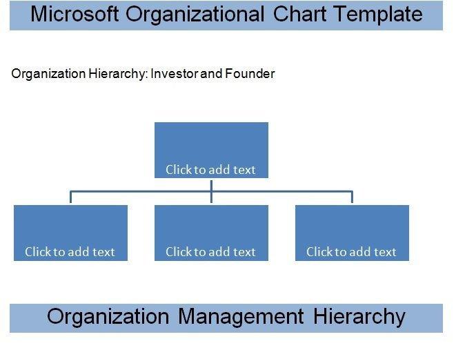 Ms Word org Chart Templates Get Microsoft organizational Chart Template