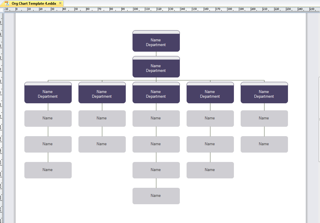 Ms Word org Chart Templates Microsoft organizational Chart Template