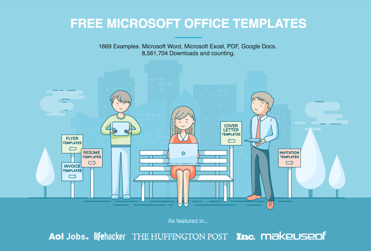 Ms Word Template Free Download Free Microsoft Fice Templates by Hloom