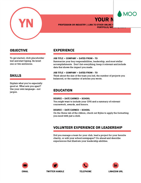 Ms Word Templates Resume 15 Jaw Dropping Microsoft Word Cv Templates Free to Download