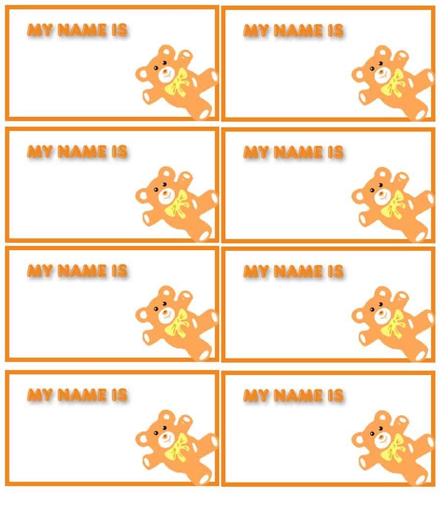 Name Tag Template Free 47 Free Name Tag Badge Templates Template Lab
