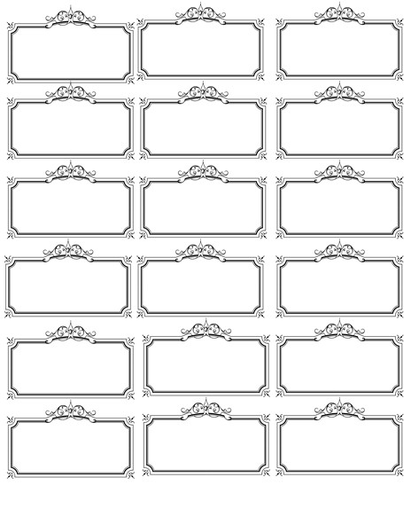 Name Tag Template Free Name Tag Template Invites Illustrations