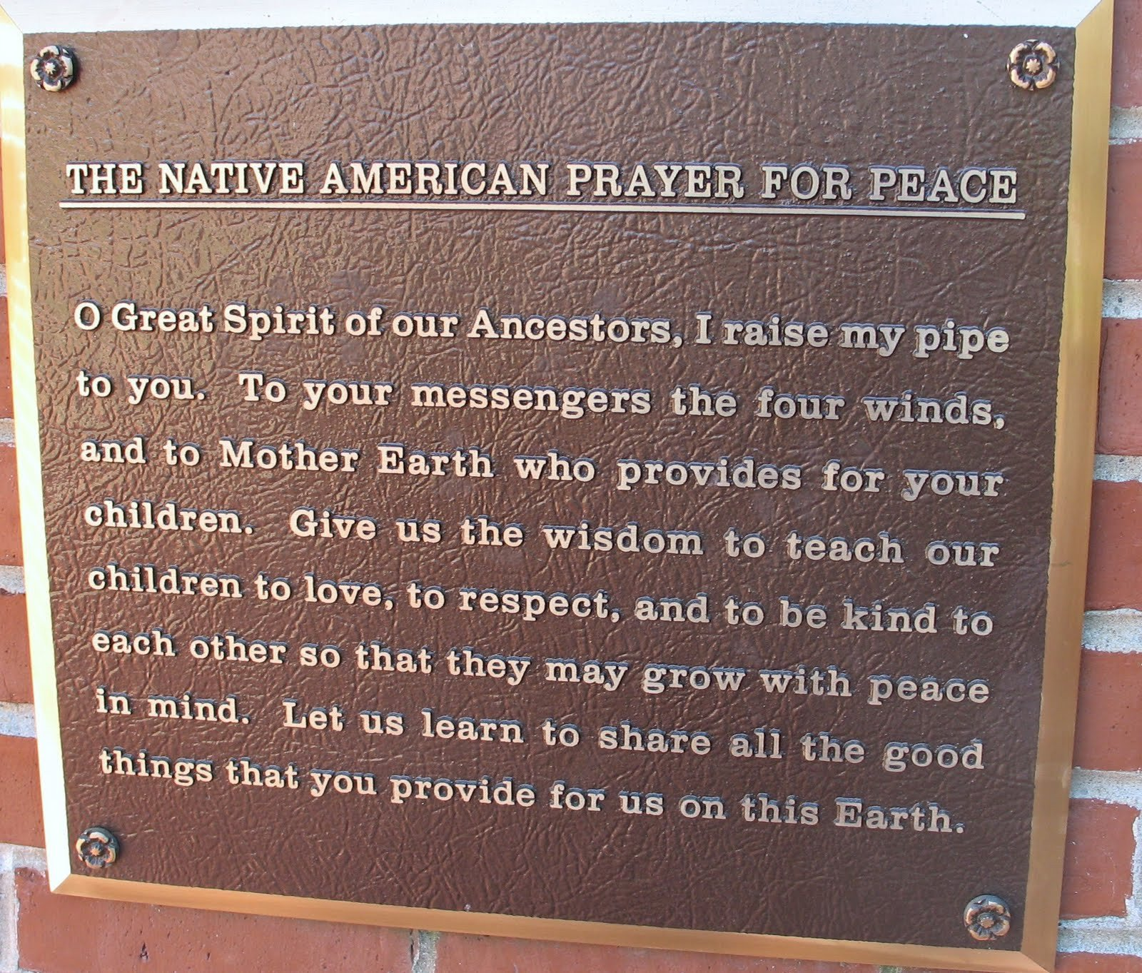 Navajo Funeral Prayer Homeschool Gardener the Peace Abbey