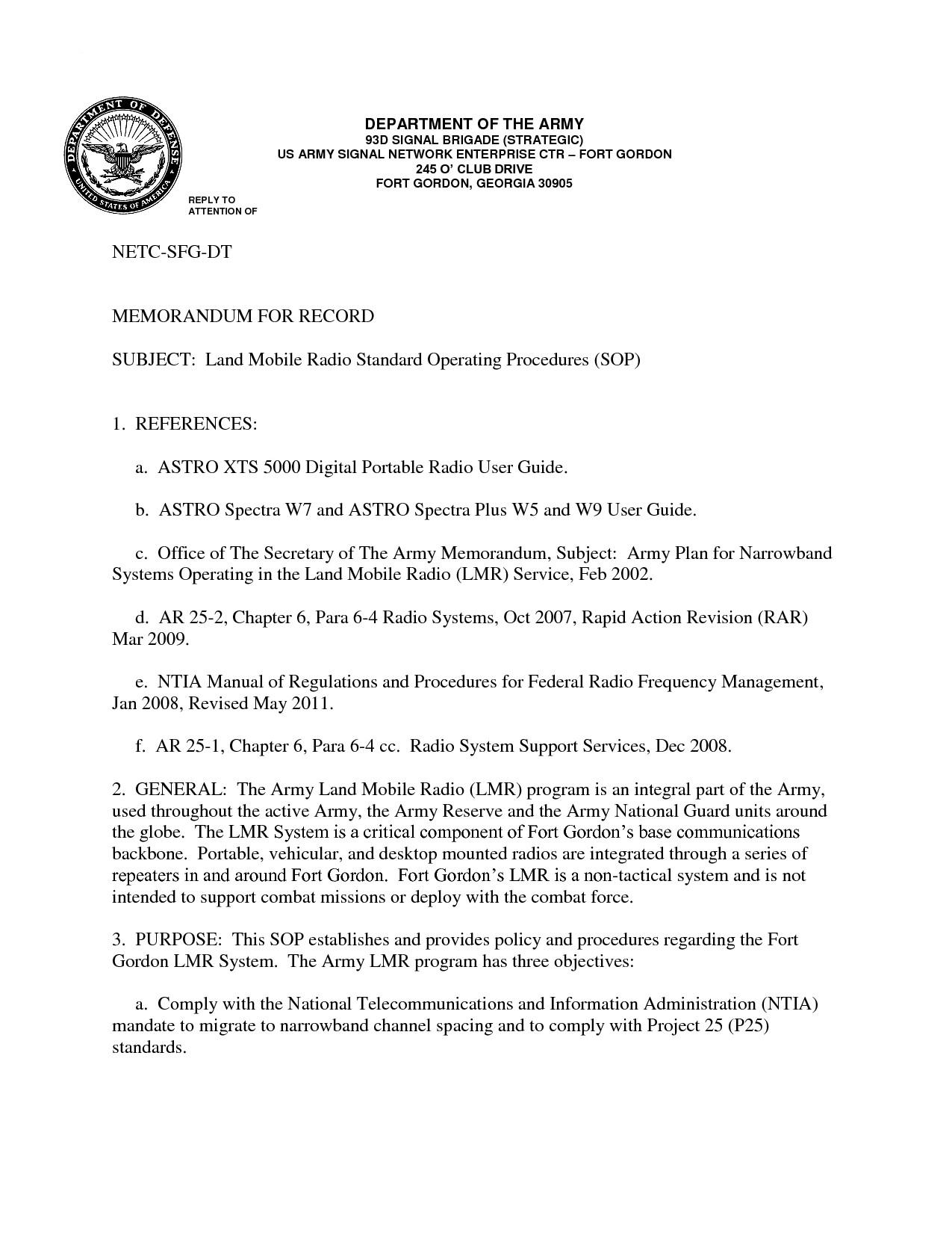 Navy sop format 24 Of Navy Standard Operating Procedure Template