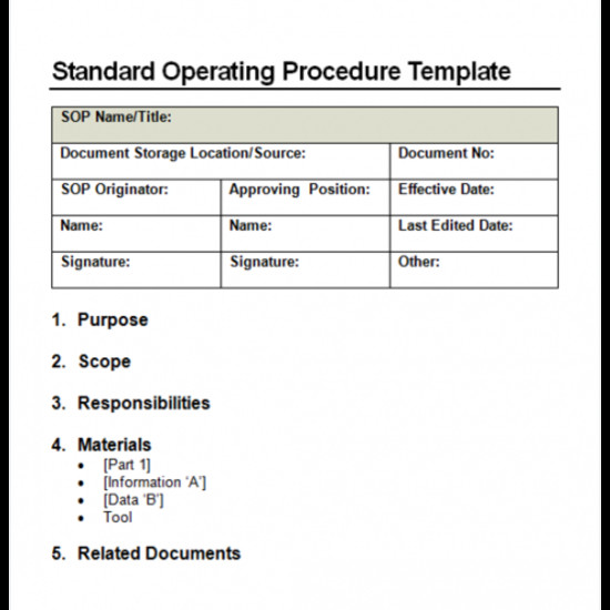 Navy sop format 4 Facts About Standard Operating Procedure