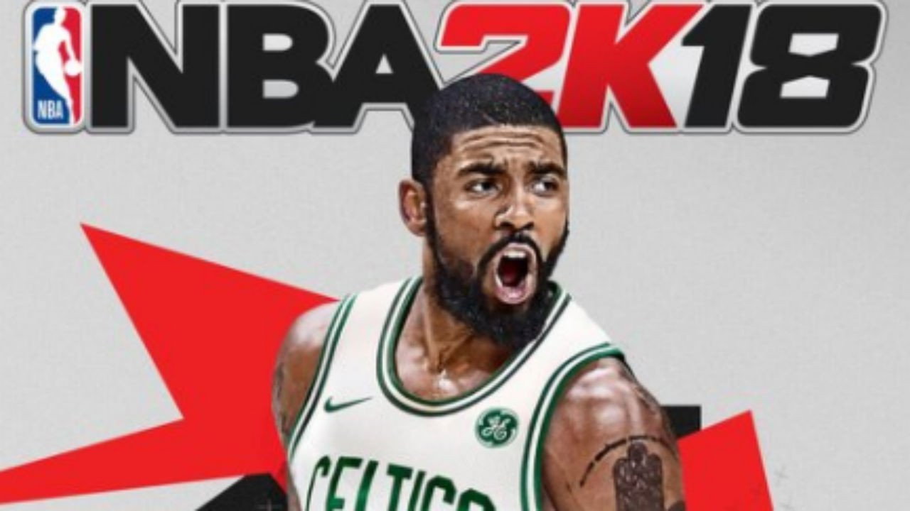 Nba 2k18 Cover Template Nba 2k18 Unveils Updated Cover with Kyrie Irving In