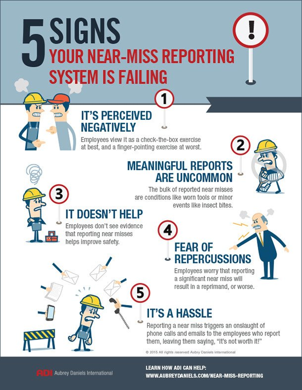 Near Miss Reporting Template 5 Signs Your Near Miss Reporting System is Failing