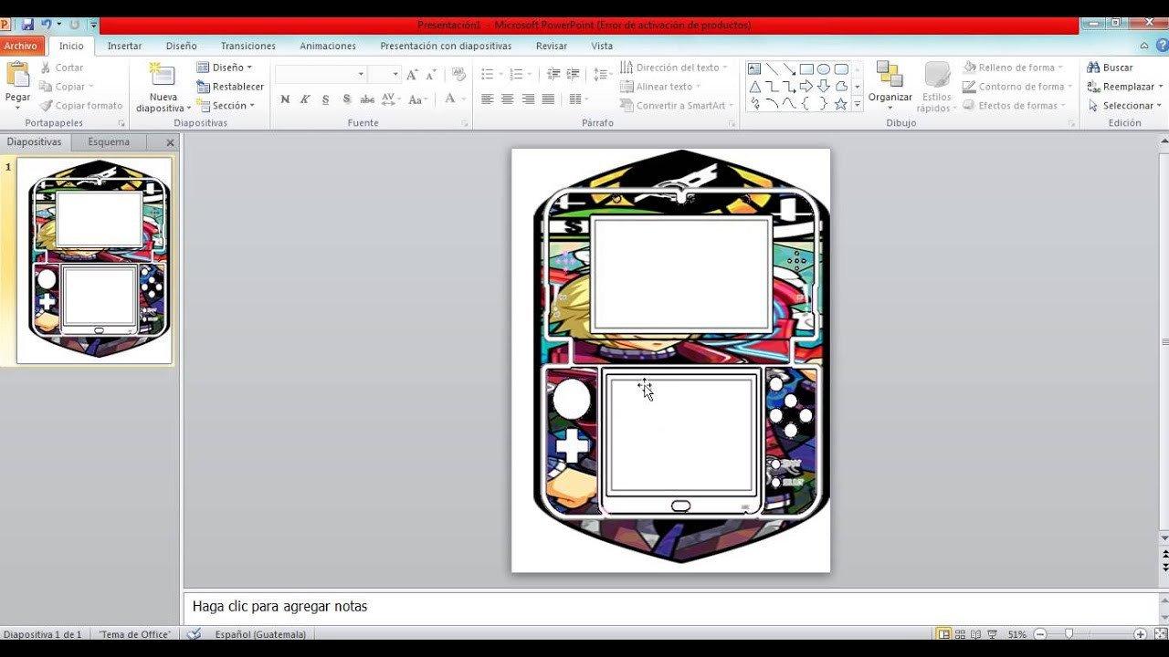 New 3ds Xl Skin Template ¡crea Tus Propias Skins Para New Nintendo 3ds Xl