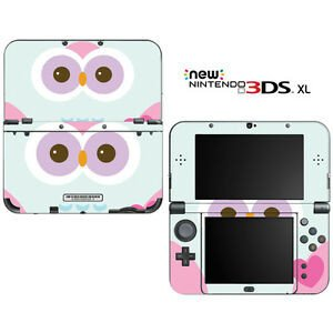 New 3ds Xl Skin Template Cute Owl for New Nintendo 3ds Xl Skin Decal Cover