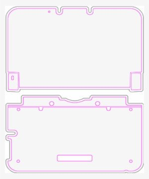 New 3ds Xl Skin Template Gamecube Controller Skin Template Free Transparent Png