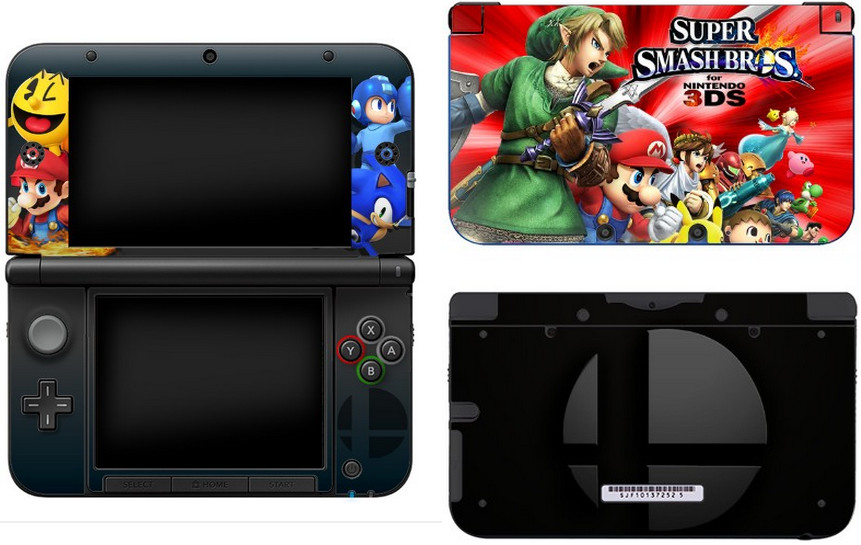 New 3ds Xl Skin Template My 3ds Xl Skin by thedrawingdutch On Deviantart