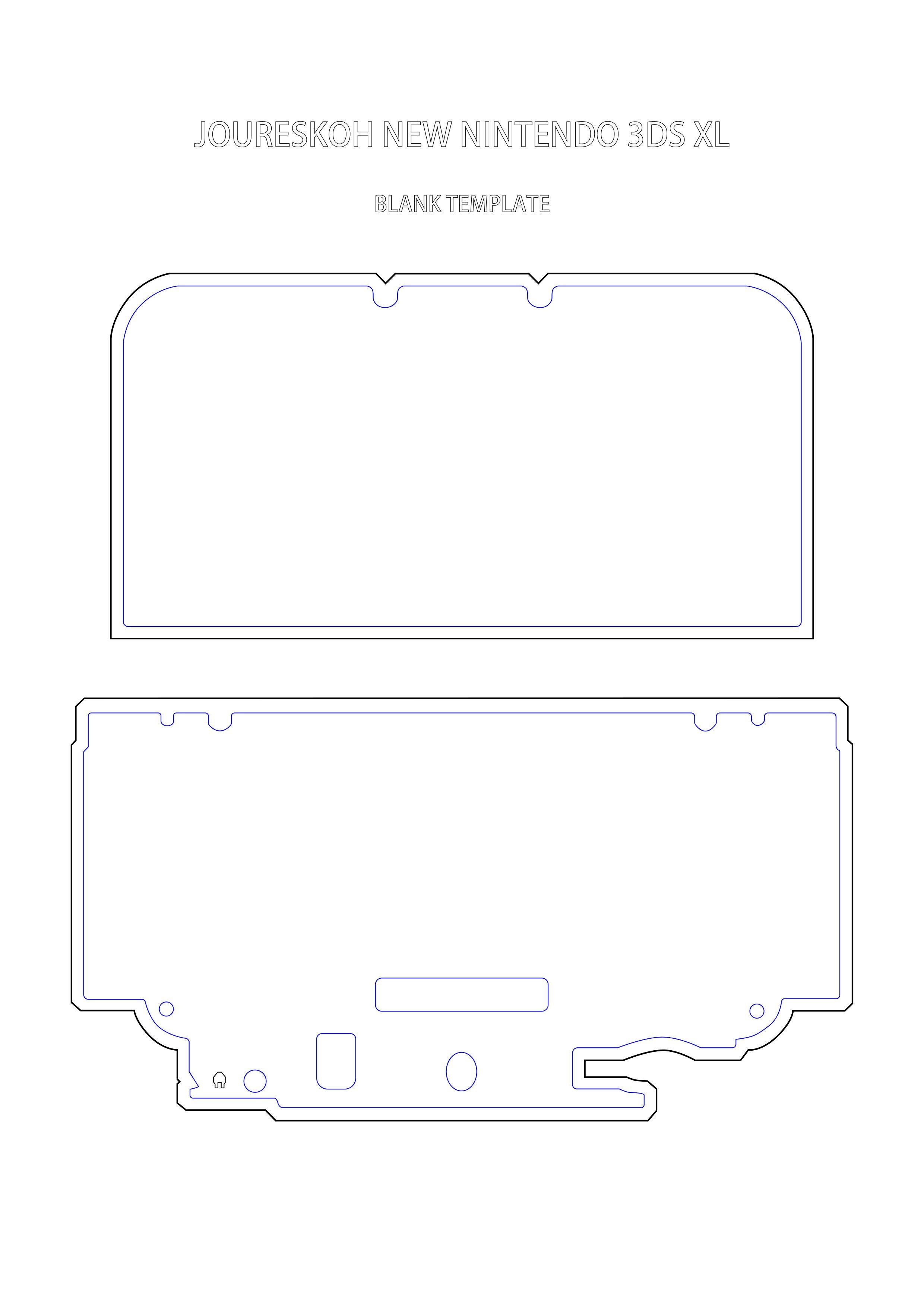 New 3ds Xl Skin Template Self Made Inexpensive Mh4u World Map Nn3ds Xl Skin
