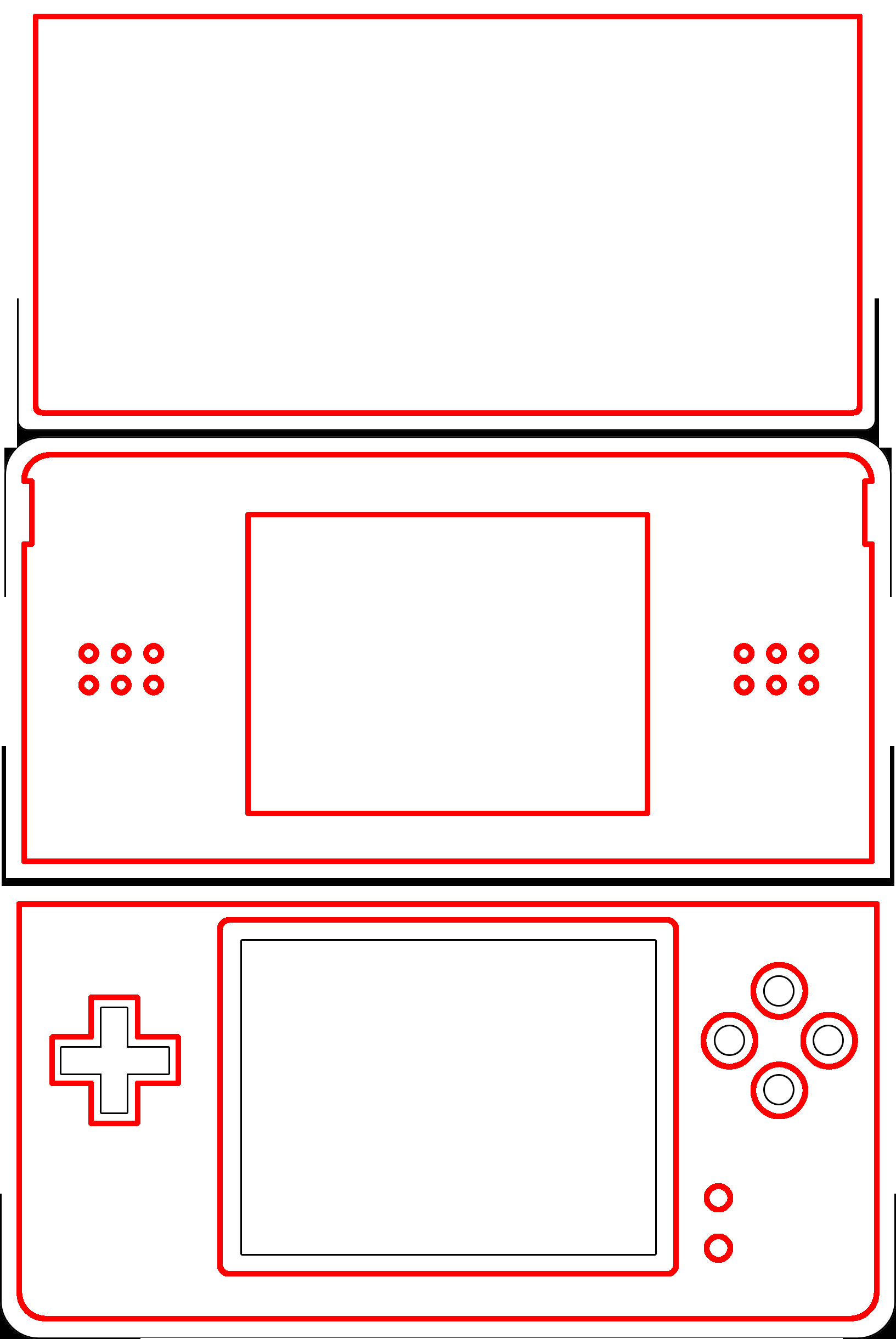 New 3ds Xl Skin Template Win A One Of A Kind Ds Skin that You Designed