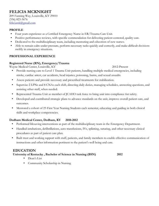 New Grad Nursing Resume Templates Mid Level Nurse Resume Sample Nursing