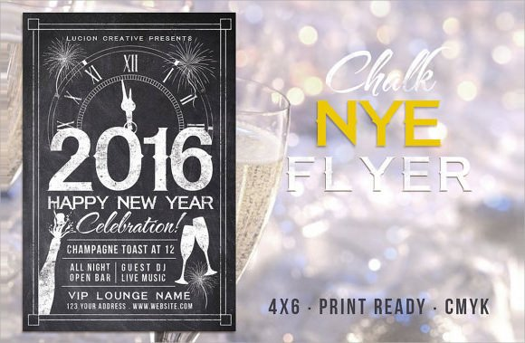 New Year Eve Flyer New Year Party Flyer Template 34 Download Documents In