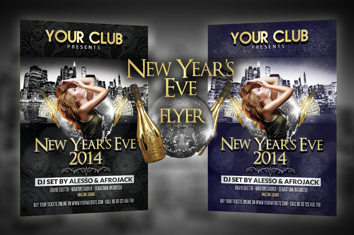 New Year Eve Flyer New Year S Eve Party Flyer Flyer Templates On Creative