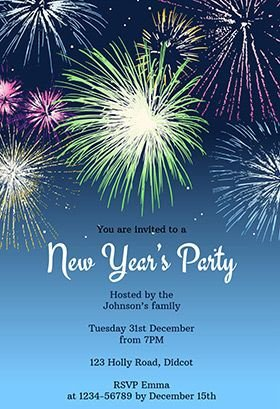New Year Party Invitation Template 17 Best Images About Printable New Year S Eve Party