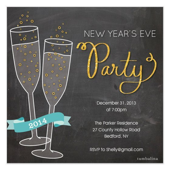 New Year Party Invitation Template New Years Eve Invitations Template