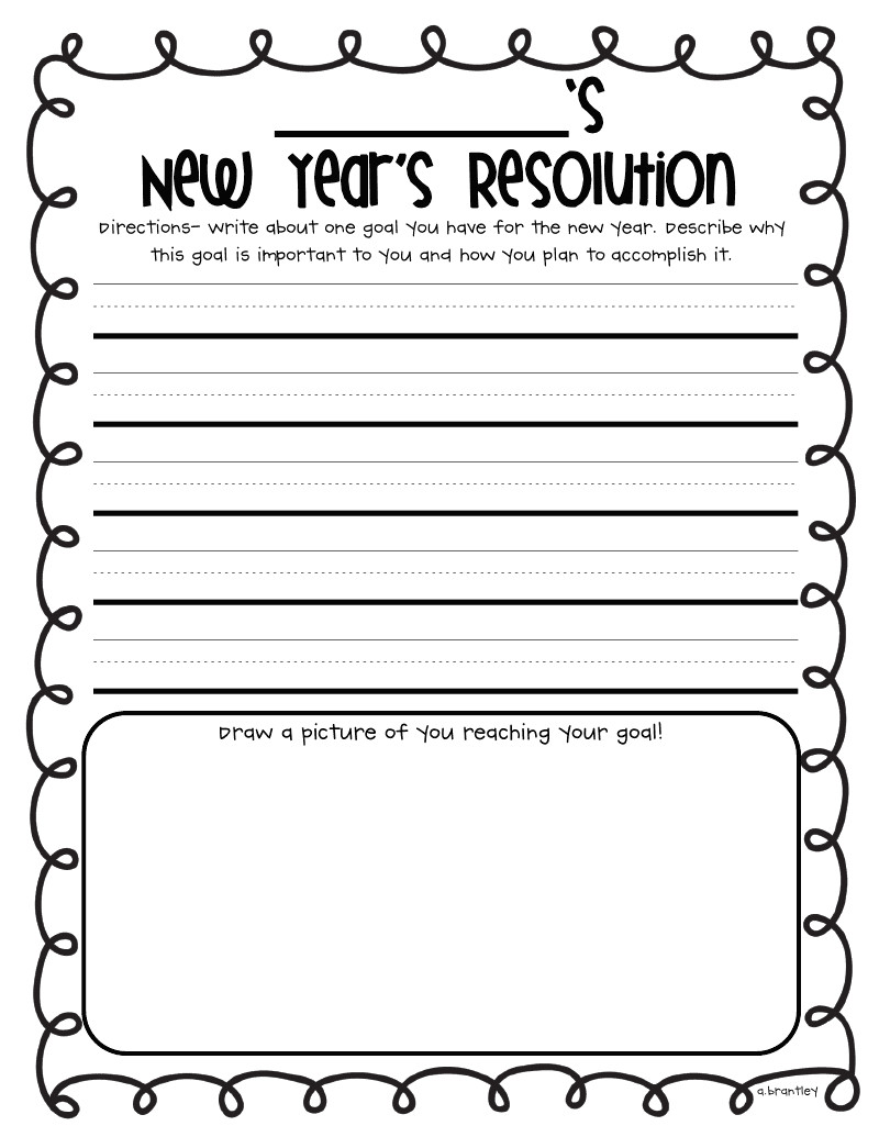 New Years Resolution Template New Year Reflections Freebies & A Fabulous Giveaway