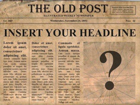 New York Times Newspaper Template Google Docs Excelentes Plantillas Para Crear PÁgina De PeriÓdico