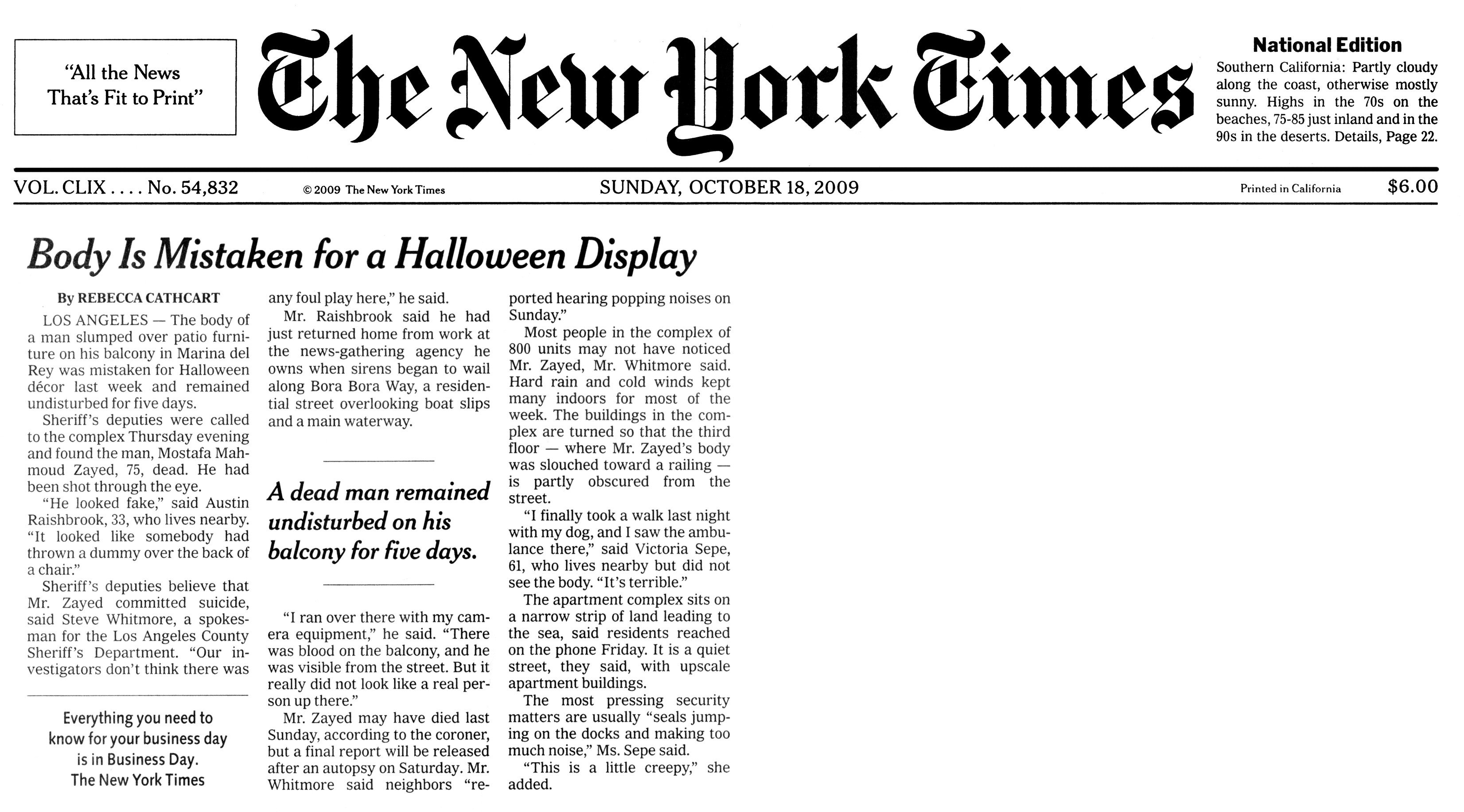 New York Times Template Akansha Divan