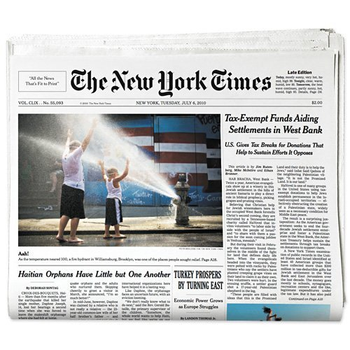 New York Times Template Drupal Newspaper Template