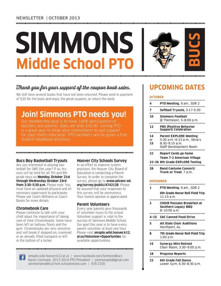 Newsletter Sample for School 25 Best Ideas About Parent Newsletter Template On