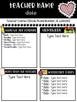 Newsletter Templates for Teachers Classroom Newsletter Templates Free by Ginger Snaps