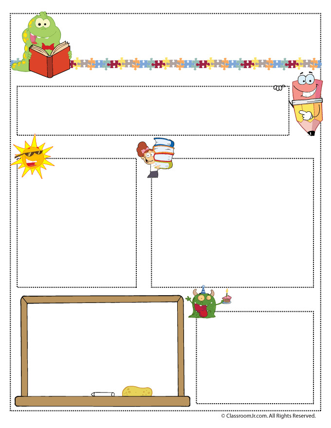 Newsletter Templates for Teachers Teacher Newsletter Templates Teacher Newsletter Templates