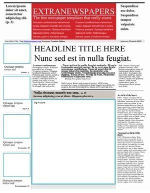 Newspaper Article Template Google Docs 25 Free Google Docs Newspaper and Newsletter Template for