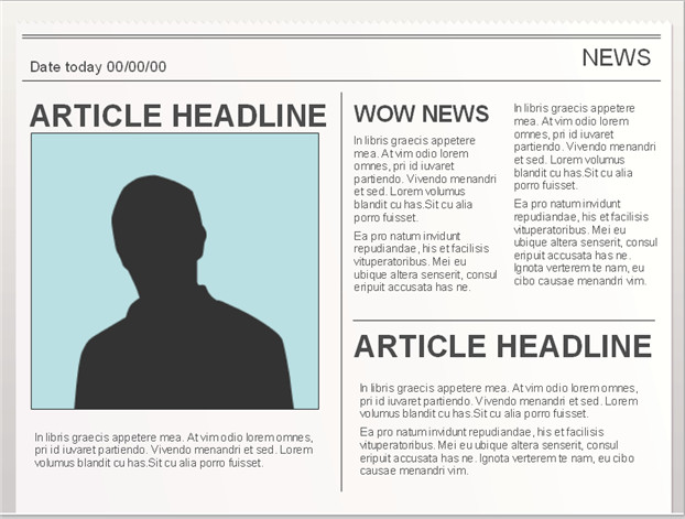 Newspaper Article Template Google Docs Easy to Edit Google Doc Editable Newspaper Template to
