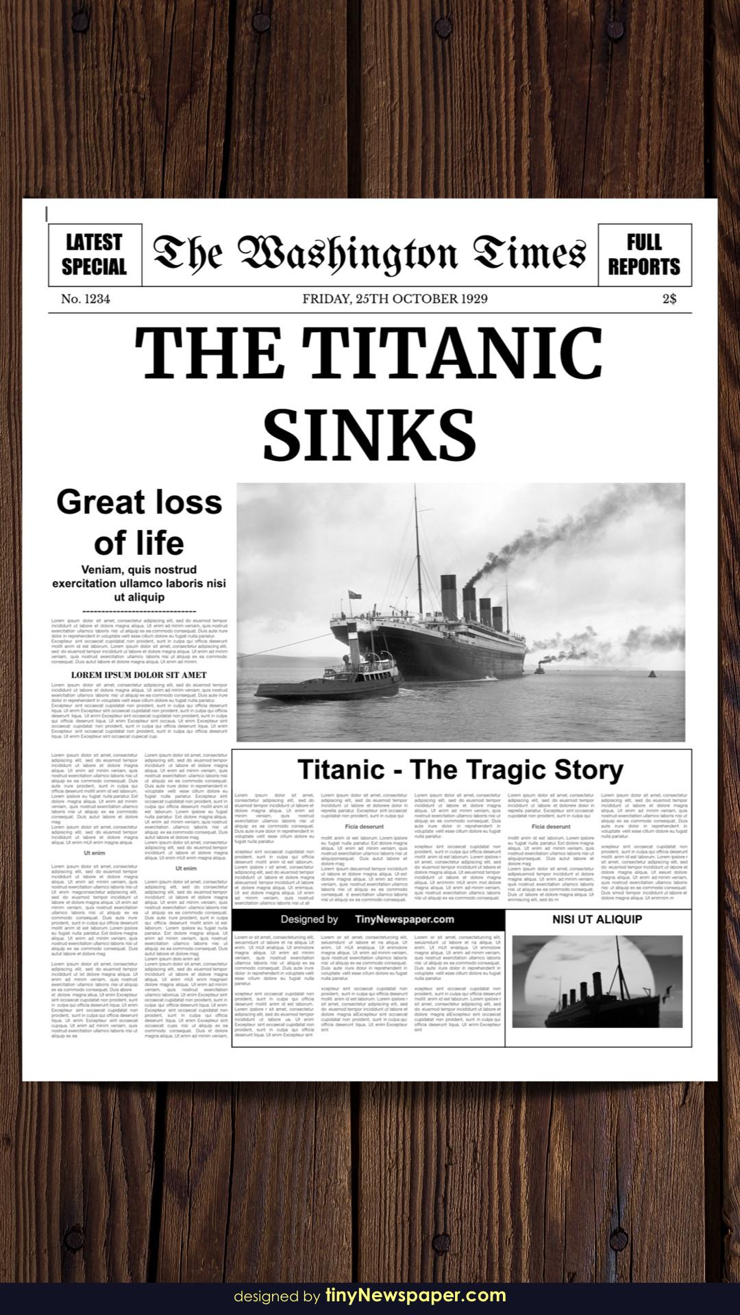Newspaper Article Template Google Docs Editable Newspaper Template Google Docs