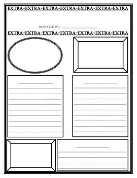 Newspaper Template for Kids What I Have Learned Newspaper organization